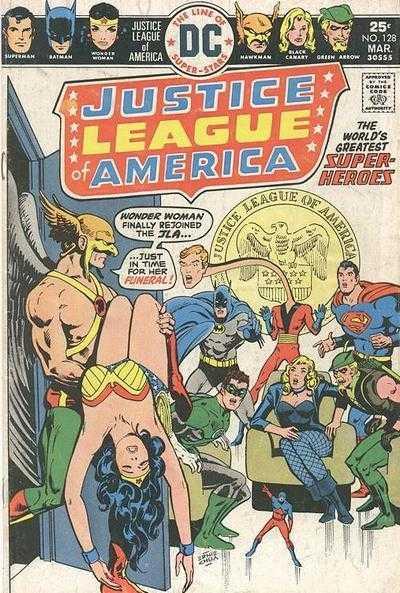 Justice League of America #128