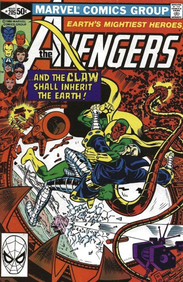 The Avengers #205