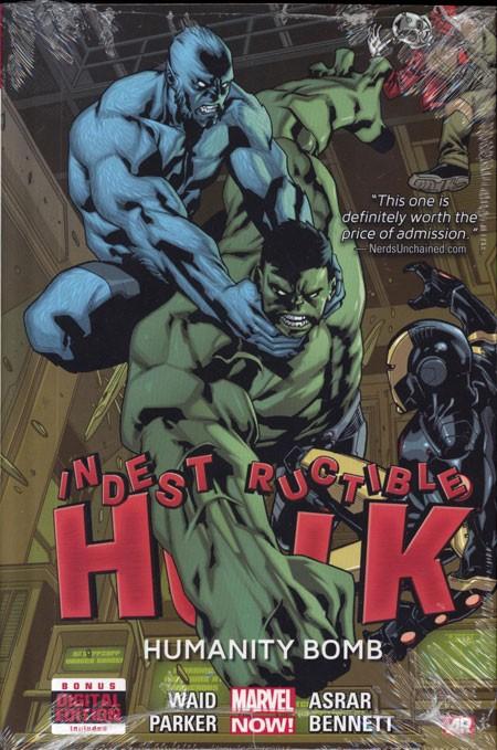 Indestructible Hulk Vol. 4: Humanity Bomb HC