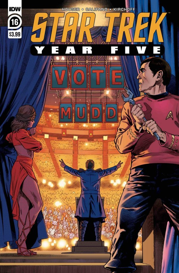 Star Trek: Year Five #16