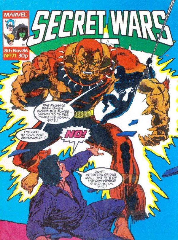 Marvel Super Heroes Secret Wars #71