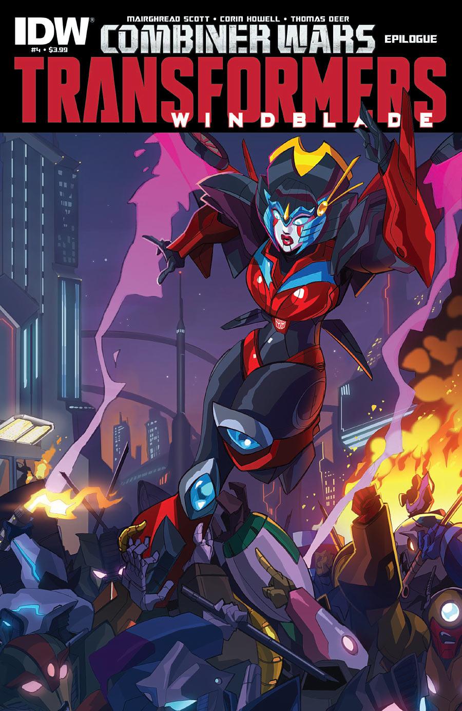 The Transformers: Windblade #4