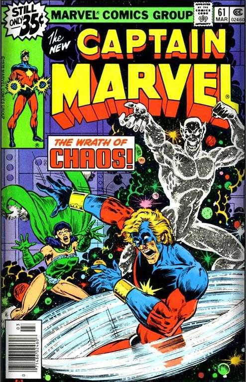 Captain Marvel #61