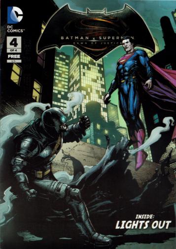 Batman V Superman: Dawn of Justice Prequel #4 Lights Out