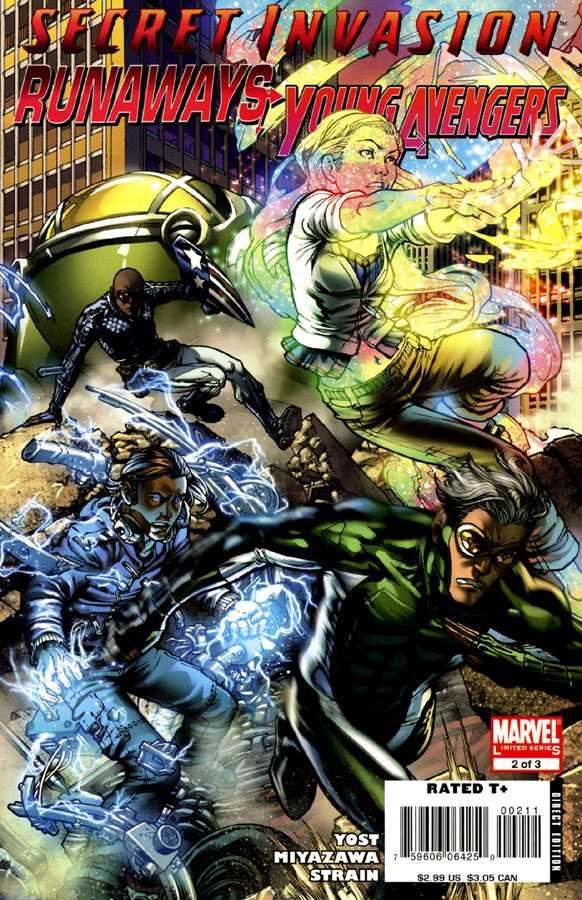 Secret Invasion: Runaways / Young Avengers #2