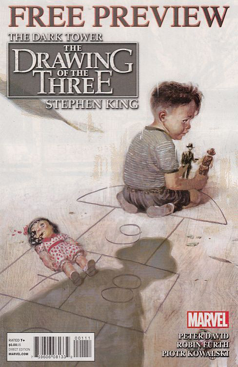 The Dark Tower: The Drawing of the Three / Revenge Sampler #1