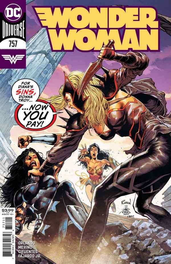 Wonder Woman #757