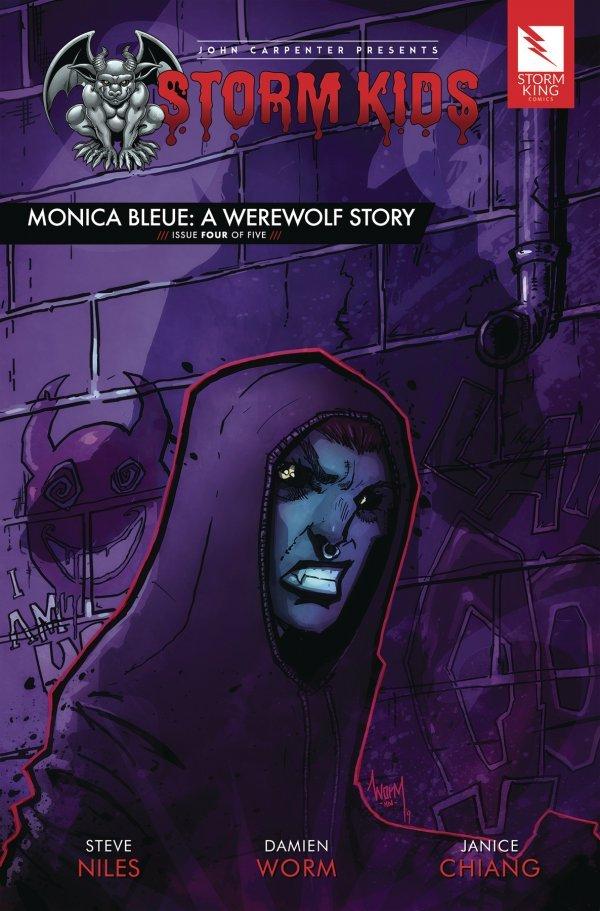 John Carpenter Presents Storm Kids: A Monica - Bleue Werewolf Story #4