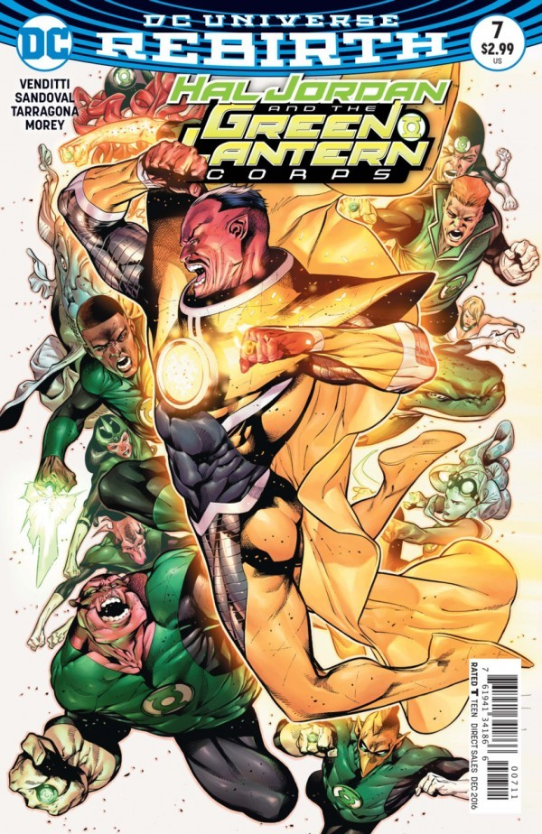 Hal Jordan and the Green Lantern Corps #7