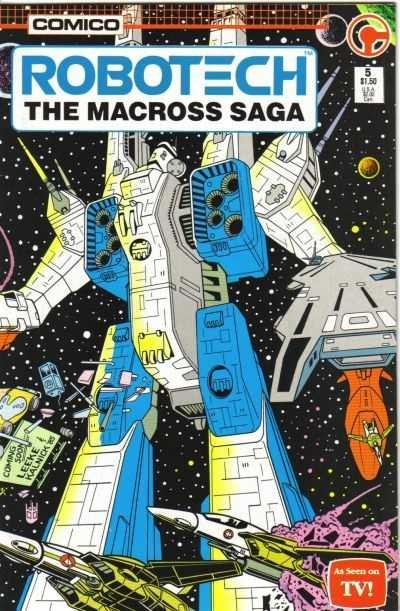 Robotech: The Macross Saga #5