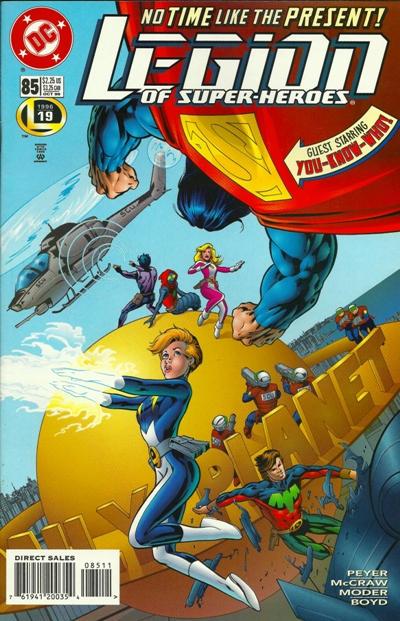 Legion of Super-Heroes #85