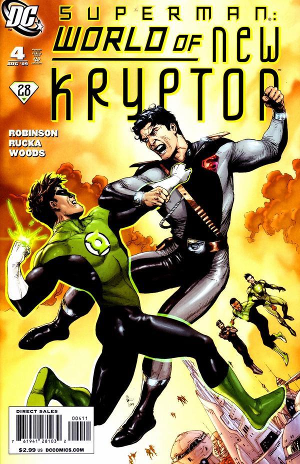 Superman: World of New Krypton #4