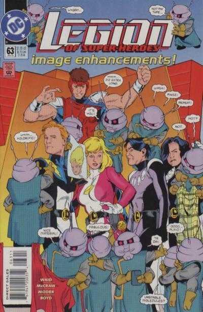 Legion of Super-Heroes #63