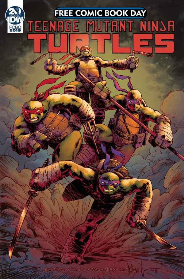 Free Comic Book Day 2019: Teenage Mutant Ninja Turtles Casualty of War #1