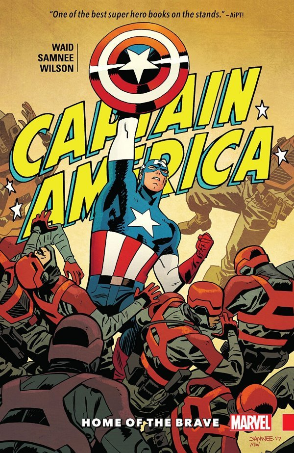 Captain America: Home of the Brave TP