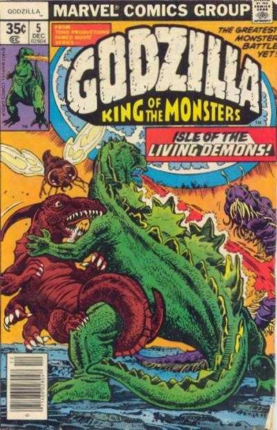 Godzilla: King of the Monsters #5