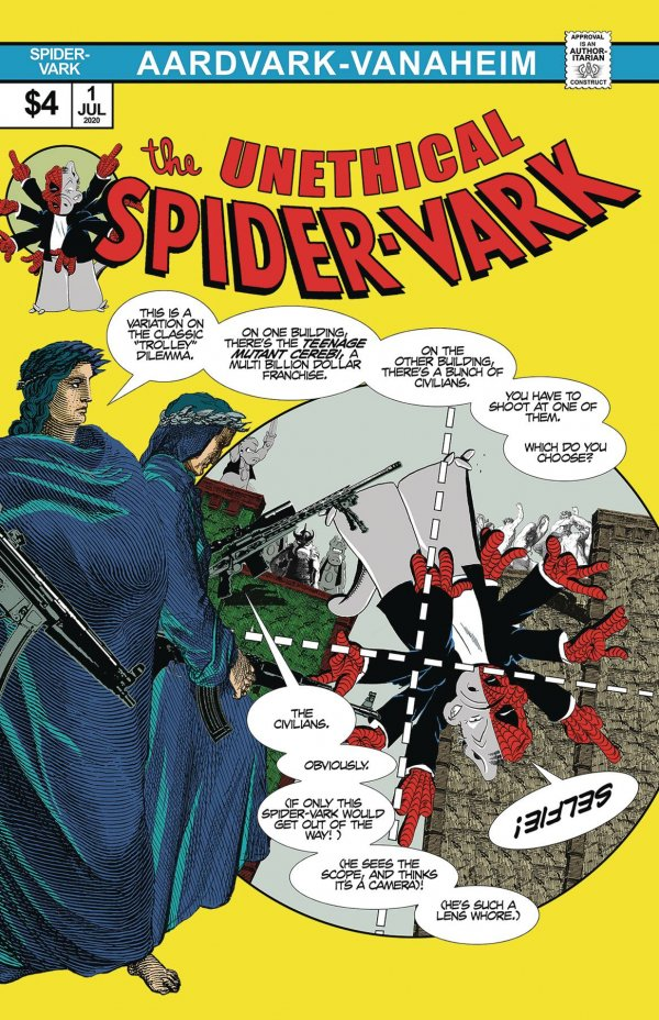 The Unethical Spider-Vark #1
