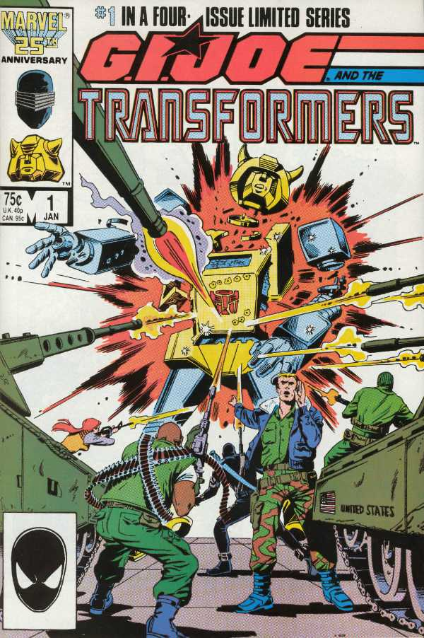 G.I. Joe and the Transformers #1
