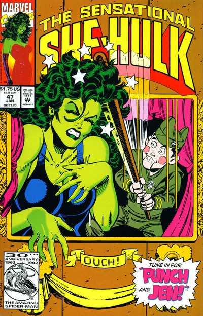 The Sensational She-Hulk #47