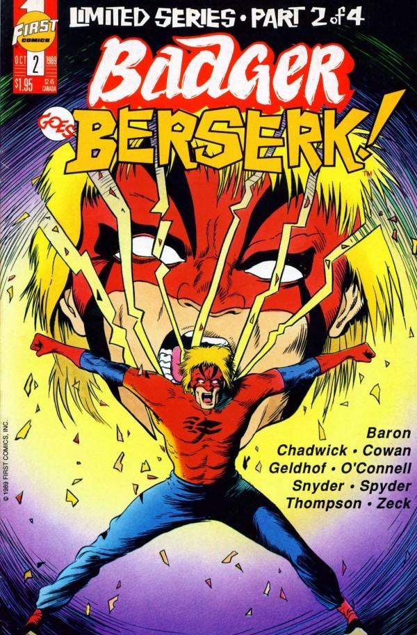 Badger Goes Berserk! #2