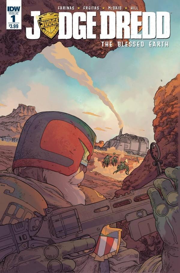 Judge Dredd: Blessed Earth #1