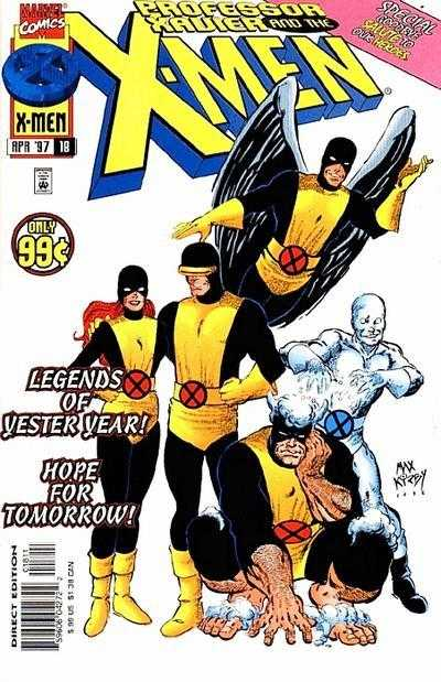 Professor Xavier and the X-Men #18