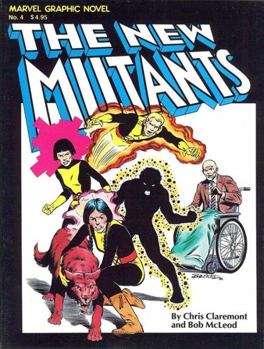 Marvel Graphic Novel #4 The New Mutants