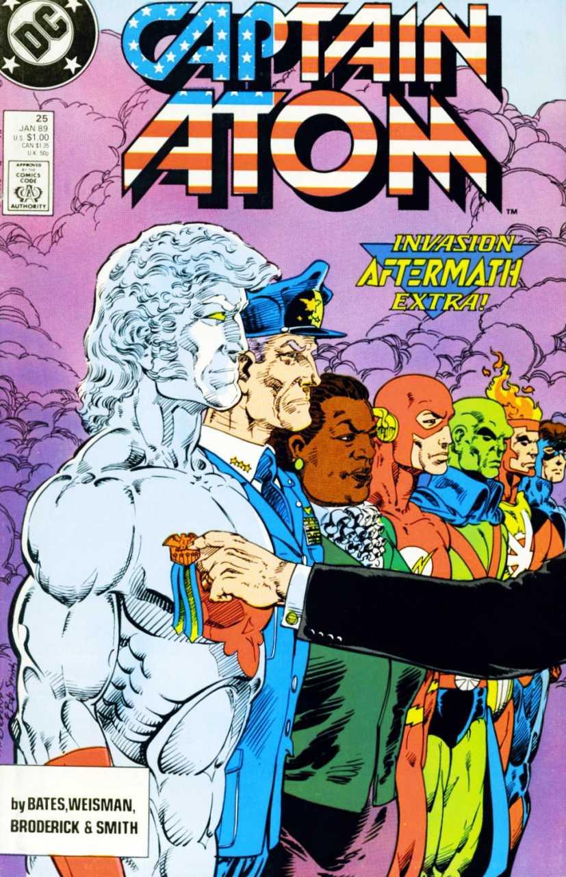 Captain Atom #25