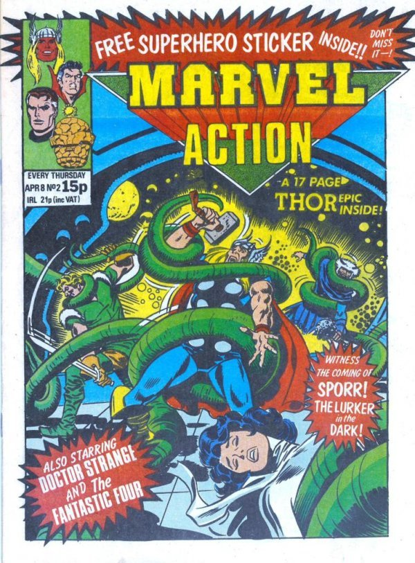 Marvel Action #2