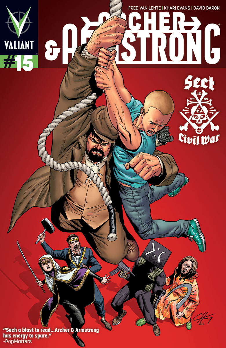 Archer & Armstrong #15