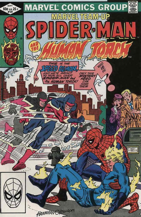 Marvel Team-Up #121