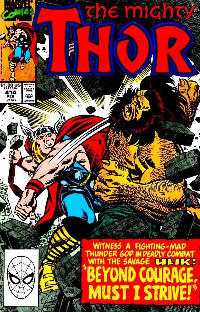 The Mighty Thor #414
