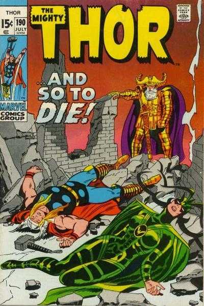 The Mighty Thor #190