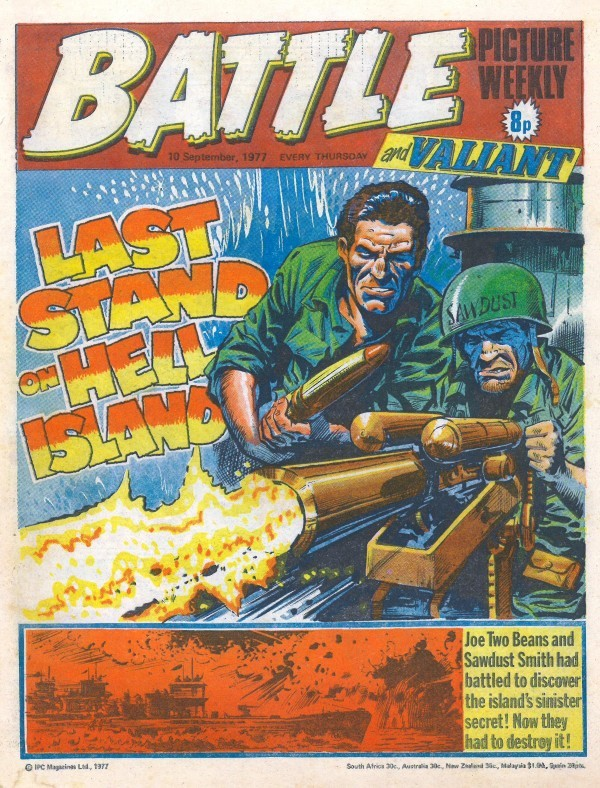 Battle Picture Weekly #132 (September 10th, 1977)