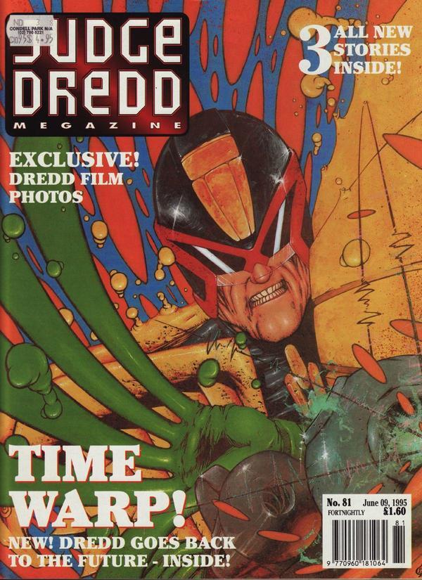 Judge Dredd: The Megazine #81