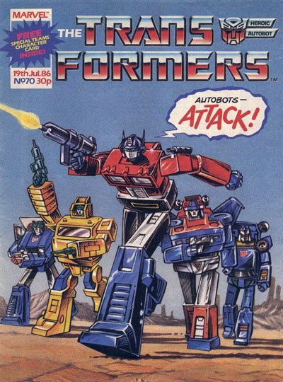The Transformers #70