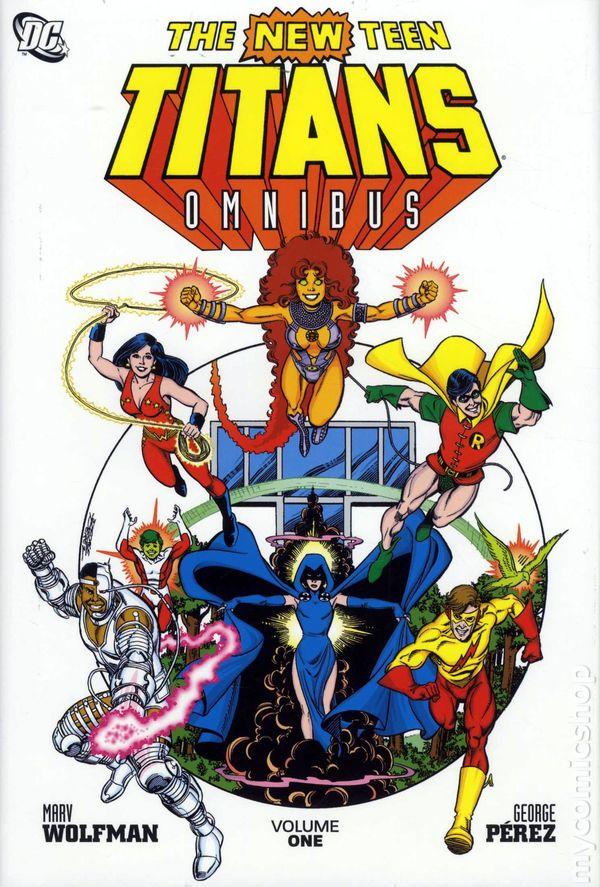 The New Teen Titans Omnibus Vol. 1 HC
