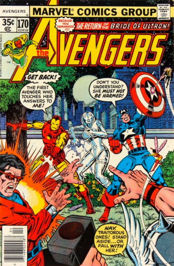The Avengers #170