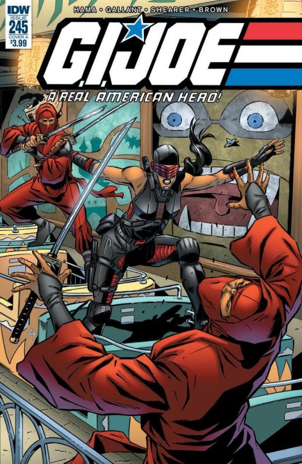 G.I. Joe: A Real American Hero #245