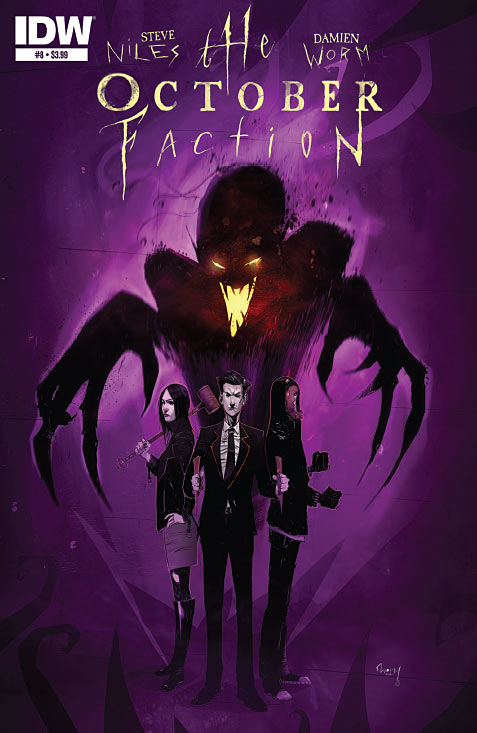The October Faction #8