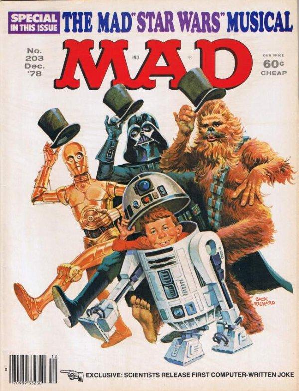 Mad Magazine #203