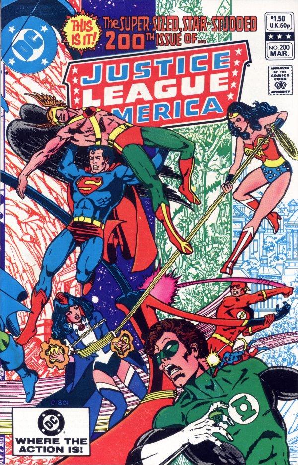 Justice League of America #200