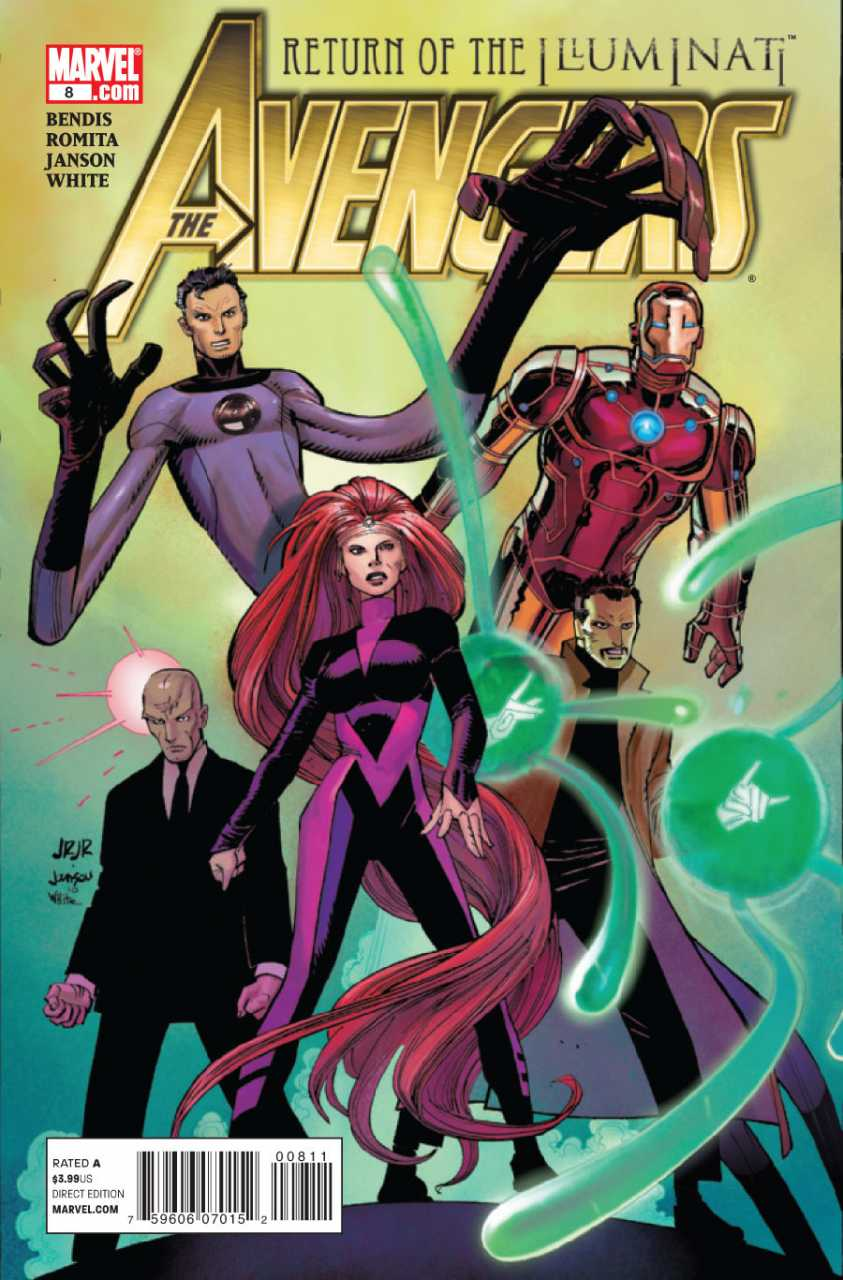 The Avengers #8