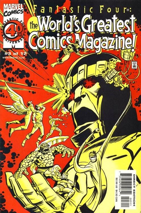 Fantastic Four: The World's Greatest Comics Magazine #3