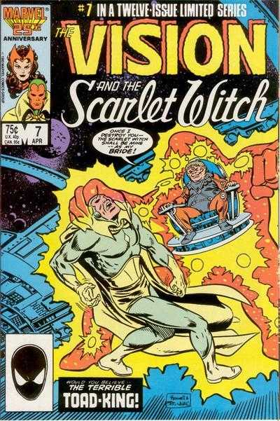 The Vision and the Scarlet Witch #7