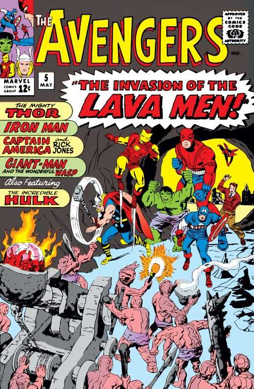 The Avengers #5
