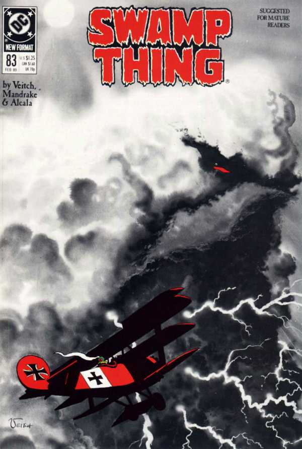 The Saga of the Swamp Thing #83