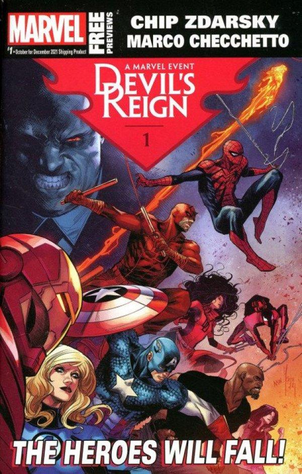 Marvel Previews #1