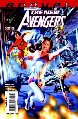 The New Avengers Annual #3