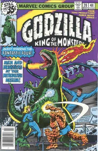 Godzilla: King of the Monsters #20
